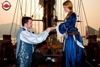 Pirate Themed Sailing Marriage Proposal