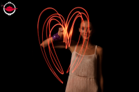 Light Painting Photography Marriage Proposal