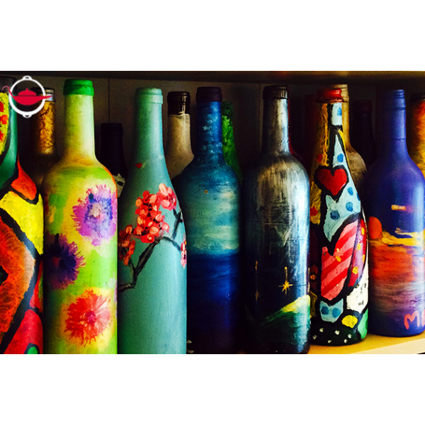 Bottle Art Workshop For Two Spoilt Experience Gifts