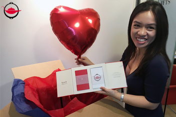 Send your Experience Gift with Heart Balloon
