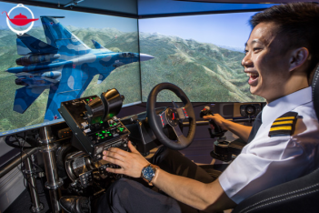 Full-Motion Flight Simulator Experience