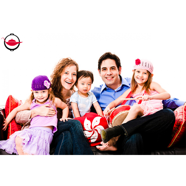 Fun family photo shoot experience spoilt experience gifts for Creative family photo shoots