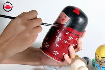 俄羅斯娃娃彩繪班 雙人
