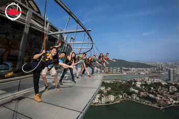 Macau Tower Skywalk Experience