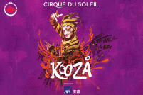 KOOZA™ Tickets for Two (CAT4)
