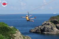 私人飛索及海崖沿繩下降體驗 六人