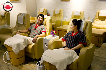 Detox Foot Steam and Massage for Two