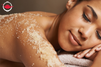 Organic Body Scrub And Massage Treatment