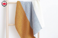 Baby Blanket DIY Knitting Kit