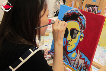 Pop Art Jamming Experience for 8
