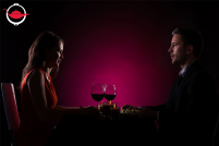Date Night Dinner Without Sight