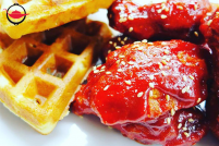 Korean Fried Chicken & Waffles Cooking Class