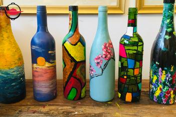 玻璃瓶彩繪工作坊 雙人
