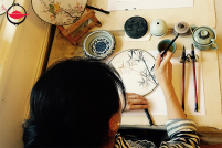中國扇子繪畫體驗 雙人