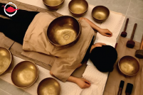 Singing Bowl Therapy Experience