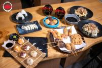 DIY Osaka cuisine cooking kit from Jan Jan Kushikatsu
