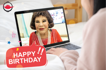 Personalized Video Greeting by a Celebrity