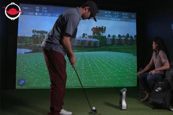 Golf Simulator Party