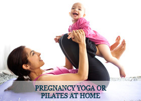 Pregnancy-Yoga-or-Pilates-at-Home