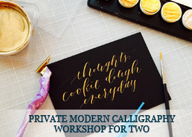 Private-Modern-Calligraphy-Workshop-for-Two