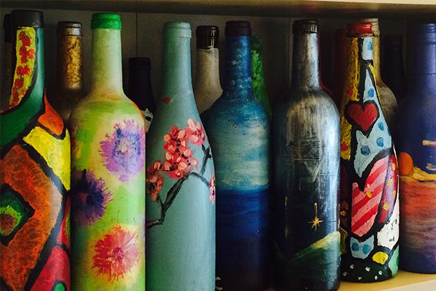 Bottle Art Workshop For Two